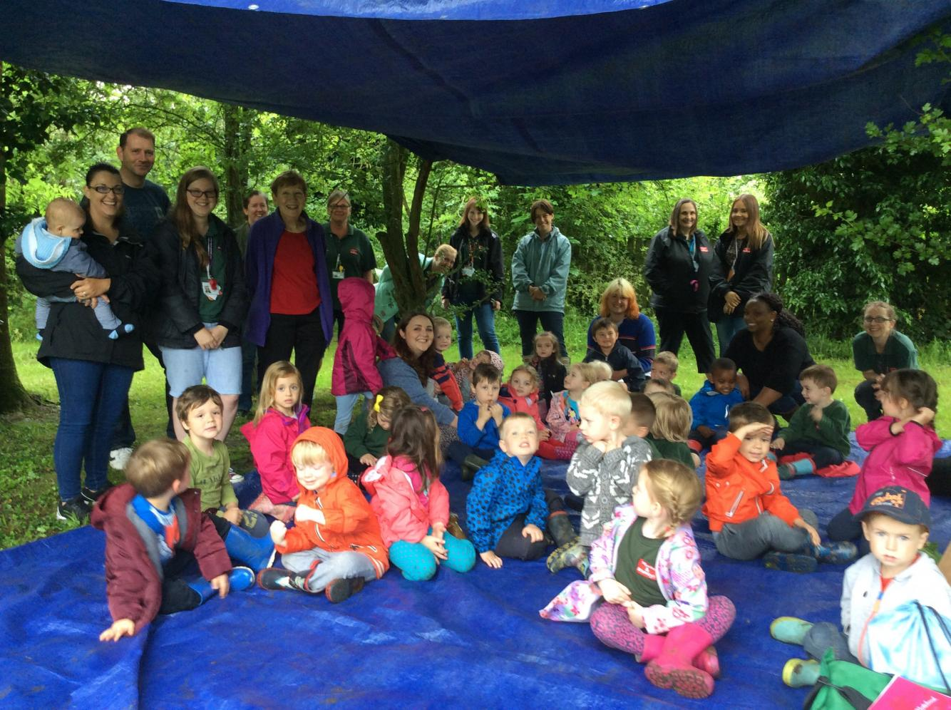 Forest School Stay and Play Session