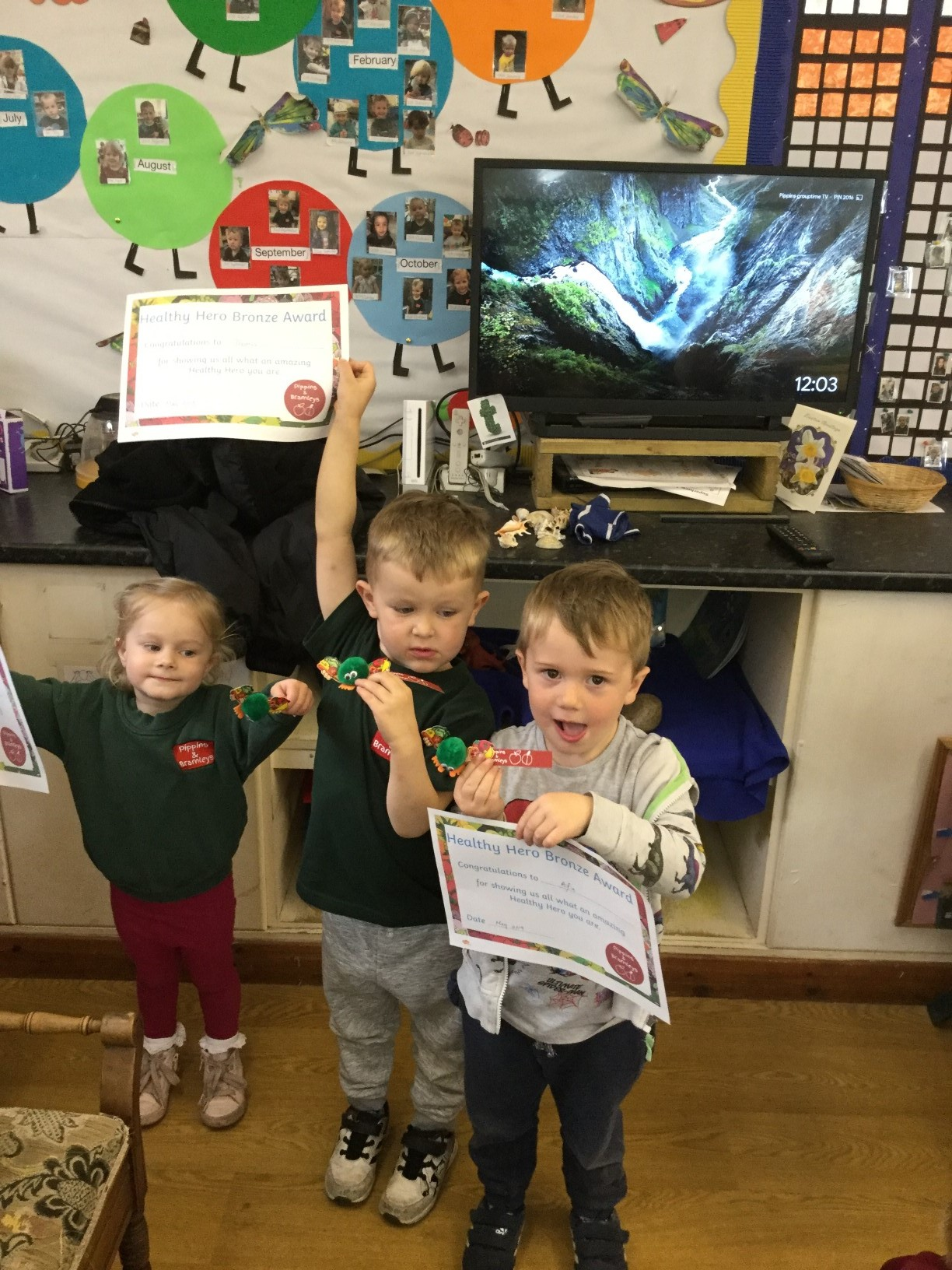 Healthy Heroes Bronze Award
